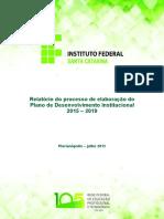 Relatorio PDI 2015-2019