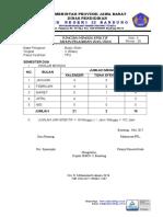Minggu Efektif Kelas Rabu 2016-2017