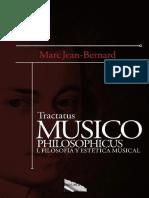 Tractatus Musico Philosophicus - Marc Jean-Bernard