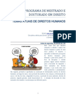 Uniceub - Disciplina - Temas Atuais de DH's
