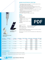 BOECO Electronic Pipettes 2017