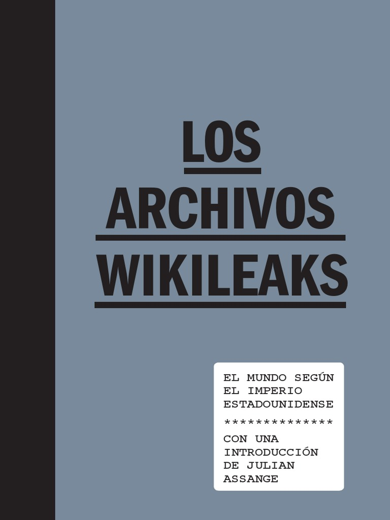 Varios - Los Archivos Wikileaks