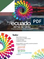 Booklet Ecuador Proyectos