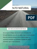 Asfalto Natural