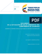 Analisis Situacion Salud Ambiental Zoonosis