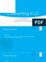 Casewriting in LD