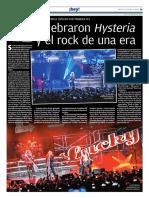 Crónica Def Leppard para Milenio Jalisco