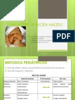 Evaluación de Recién Nacido 2015