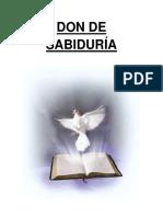 7 DONES espiritu santo