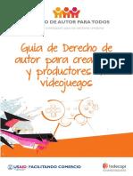 Guía de Derecho de Autor Para Creadores y Productores de Videojuegos