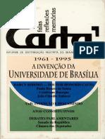 A Invenção Da Universidade de Brasília