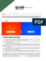 Esquerda e Direita para LeigosO Retrogrado _ O Retrogrado.pdf