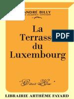 André Billy, La Terrasse du Luxembourg