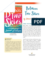 Between Two Skies by Joanne O'Sullivan Discussion Guide