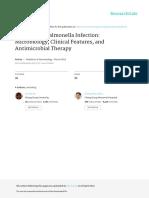 2013 Chen PAN Non TyphoidSalmonellainfection Microbiologyclinicalfeaturesandantimicrobialtherapy