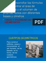 Areas Cuerpos Geometricos Octavo