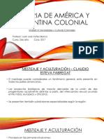 Historia de América y Argentina Colonial - SOCIEDAD