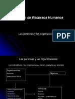 Las Personas y Las Org. Clase 2 Plataforma