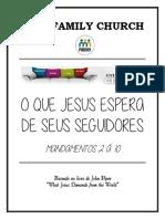 o Que Jesus Espera de Seus Seguidores