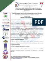 Reglamento General i Feria Nacional de Sce Del Sub