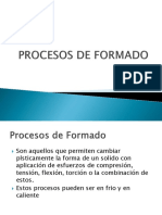 Procesos de Formado VC