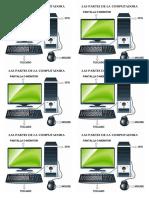 Las partes de la computadora - 1º grado.pdf