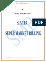 Super Market Billing Management.doc