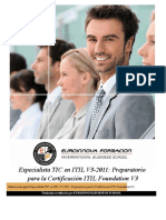 Tic Itil V32011 Preparatorio Certificacion Itil Foundation V3
