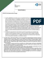 Estudo Dirigido 1 Prof Humberto
