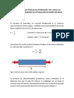 Aplicación PSO y BFOA en Diseño Mecánico II 2017