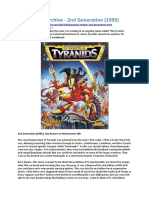 The Tyranid Archive - 2nd Generation (1995)