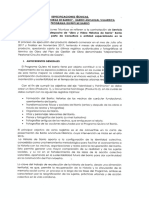 Especificaciones Tecnicas Libro y Video Prog. Barrio Ancahual