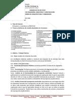 Rúbrica Examen Fin Ciclo Proyectos IV
