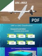 UAV MALE