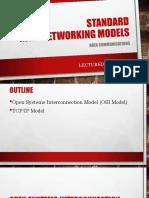 Standard Internetworking Models