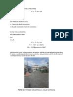 Calculo de Proyeccion de La Poblacion