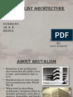 Brutalist Archtecture 1
