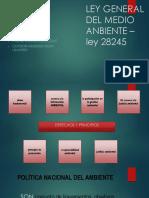 Ley General Del Medio Anbiente – Ley 28245