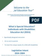 special education tour ppt