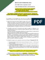 Preguntas Del Informe Final Sobre El Juego de Inversión Bursátil 2017