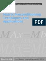 Chen_Matrix Preconditioning Techniques and Applications.pdf