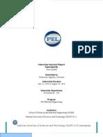 Internship Report VD-AD