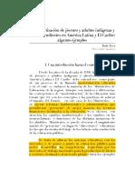 La alfabetización de jóvenes y adultos indígenas en América Latina y El Caribe