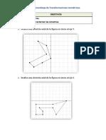 Guía de Aprendizaje de Transformaciones Isométricas.