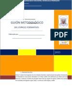Guion Metodologico Marzo 2015