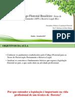 O Novo Código Florestal Brasileiro.pptx