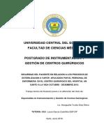 Seguridad Del Paciente - Procesos de Esterilización 230616