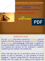 d b Secreto Bancario