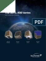 SSTL-X50 Next Generation Missions