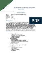 Fs0736 Tópicos de Física Teórica_ Introducción a Las Partículas Elementales